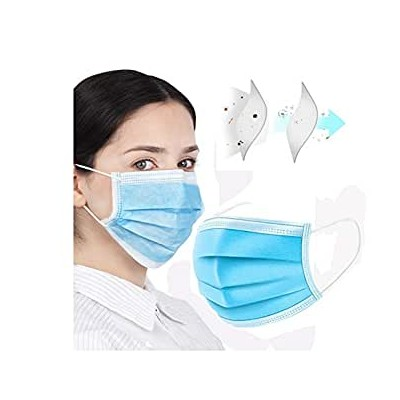 ProSafe Pack 40 Mascarillas Quirurgicas Desechables Tipo IIR - BFE Color Azul