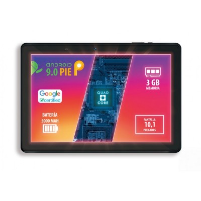 "TABLET TALIUS ZIRCON 1015 WIFI 10,1"" 3GB/32GB/QUADCORE"