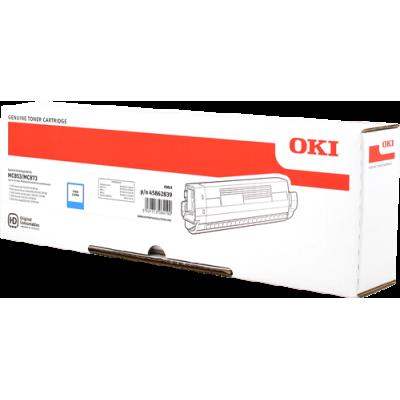 Tóner - MC853/MC873 - Cian - 7.300 páginas - OKI