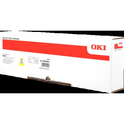 Tóner - MC873 - Amarillo - 10.000 páginas - OKI