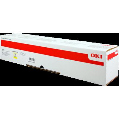 Tóner - C931 - Amarillo - 24.000 páginas - OKI