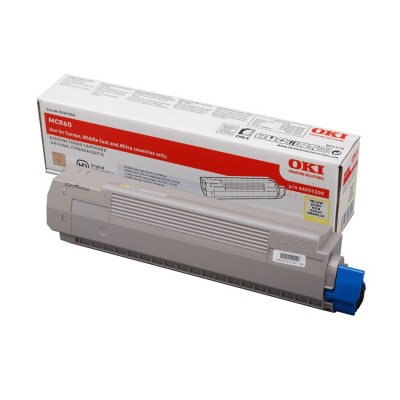 Tóner - MC860 - Amarillo - 10.000 páginas - OKI