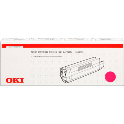 Tóner - C51/52/53/54 - Magenta - 5.000 páginas - OKI
