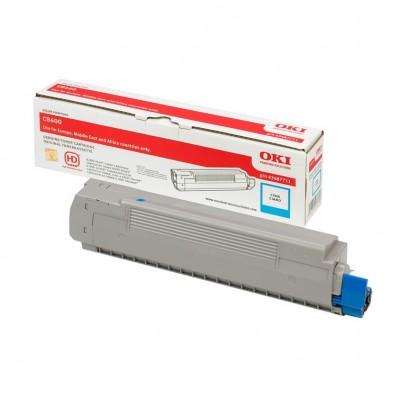 Tóner - C8600/C8800 - Cian - 6.000 páginas - OKI