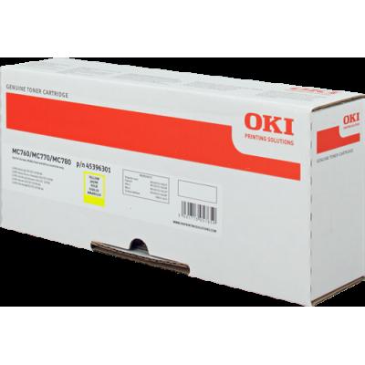 Tóner - MC760/70/80 - Amarillo - 6.000 páginas - OKI