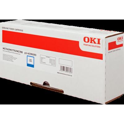 Tóner - MC760/70/80 - Cian - 6.000 páginas - OKI