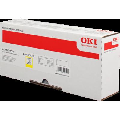 Tóner - MC770/80- Amarillo - 11.500 páginas - OKI