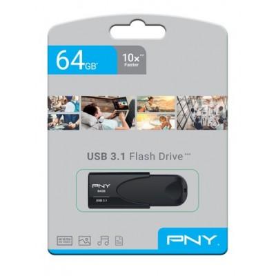 Memoria USB 3.1. 64Gb PNY Attache