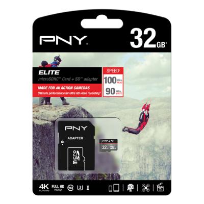 Tarjeta MicroSD PNY 32Gb Elite