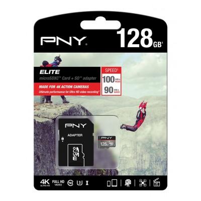 Tarjeta MicroSD PNY 128Gb Elite
