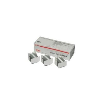 Grapas para Finisher - C9600/9650/9800/MC760/70/80/ES7460/80 (3 cartuchos